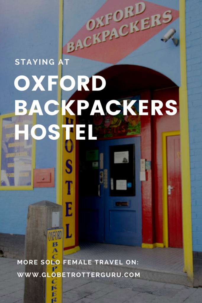 Oxford Backpackers Hostel Review