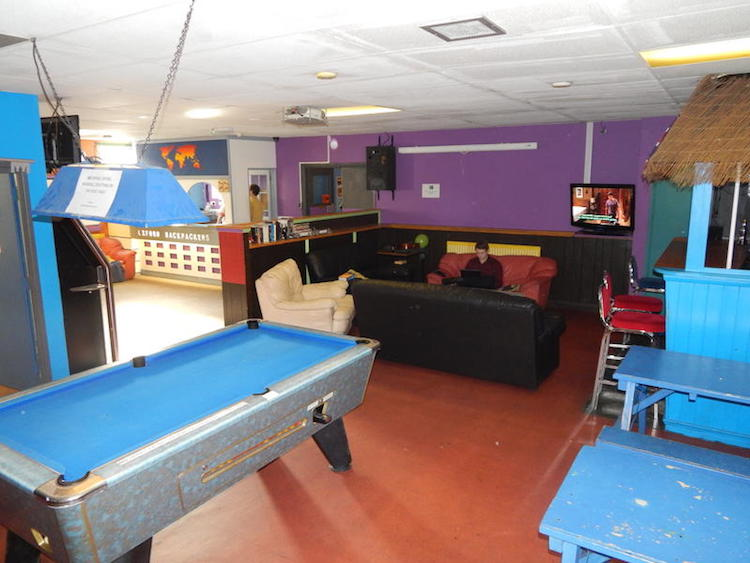Oxford backpackers lounge