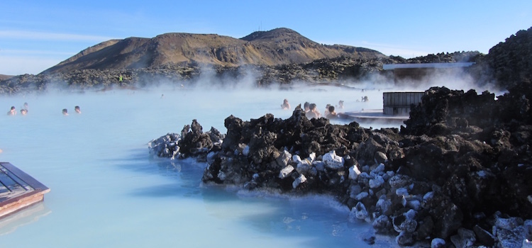 Relaxing In The Blue Lagoon Iceland