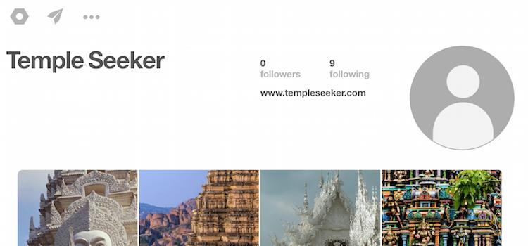 Temple Seeker on Pinterest