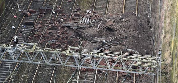 Lime Street Station Wall Collapse