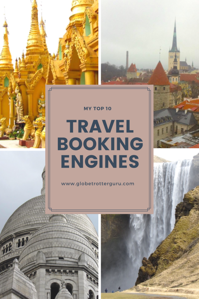 Top 10 travel booking engines