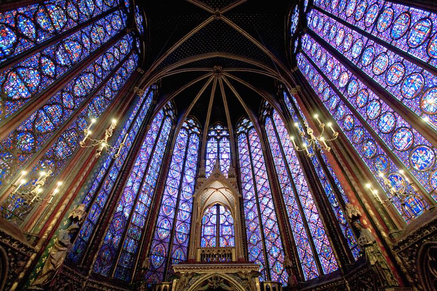 Sainte Chapelle, Ile de la Cite, Paris