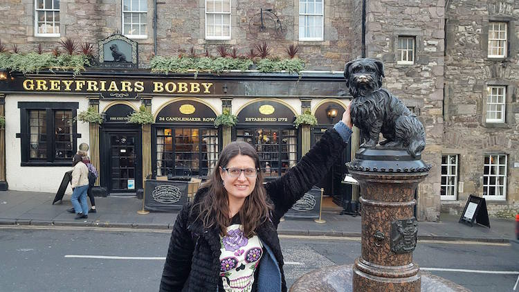 48 hours in Edinburgh - Greyfriars Bobby Statue