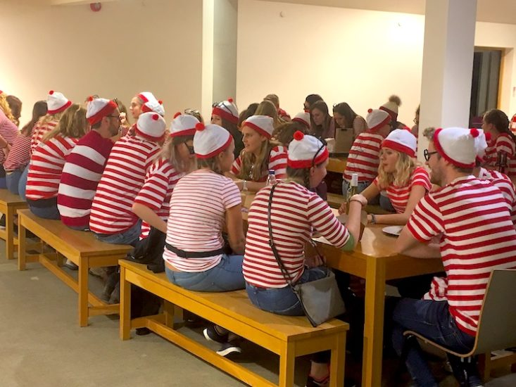 Waldo Fancy Dress Dinner