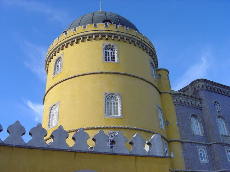 Sintra Day Trip from Lisbon - The Yellow Tower of Pina Palace