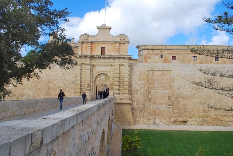 Mdina Malta - Main Gate