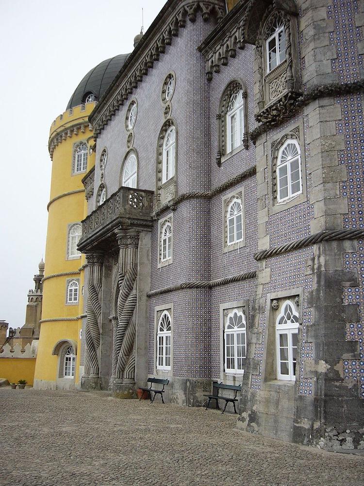 Sintra Pina Palace Entrance