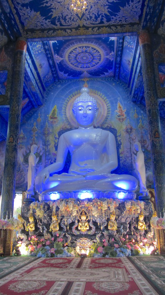 Things to do in Chiang Rai - Blue temple