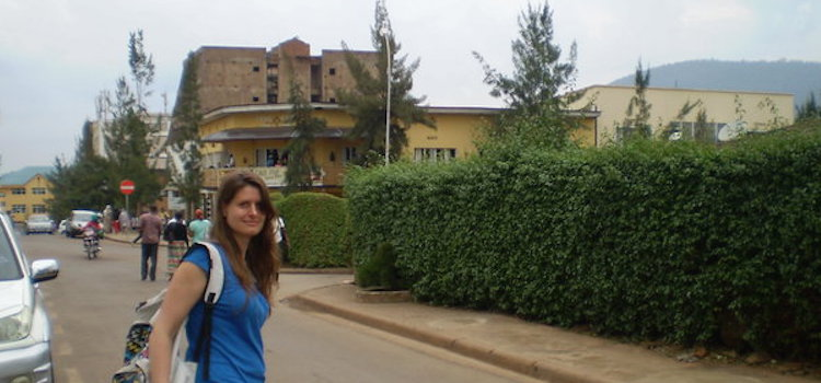 Amy in Kigali Rwanda
