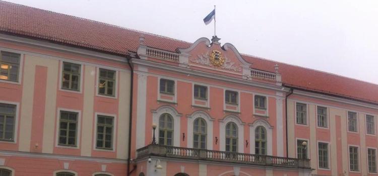Tallinn Pink Houses Parliament