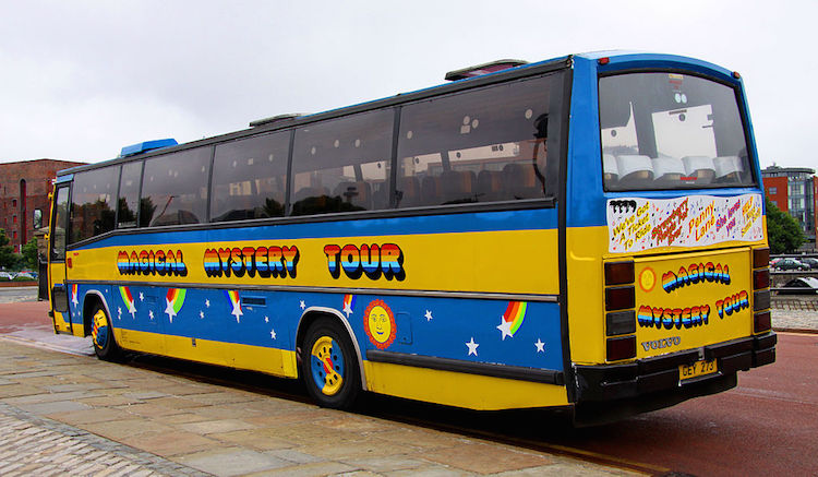 Magical Mystery Tour Bus Liverpool