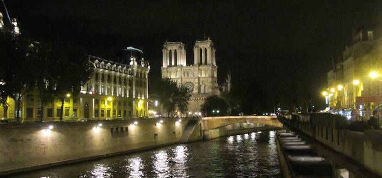 Seine river Cruise Notre Dame
