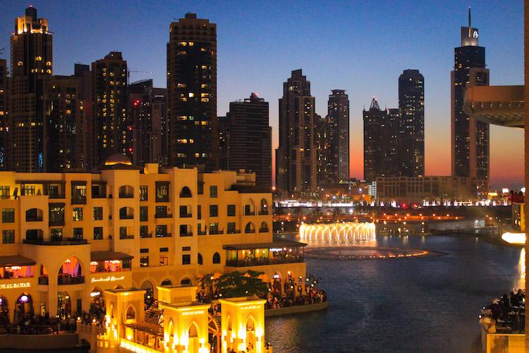 Downtown Dubai Fountains