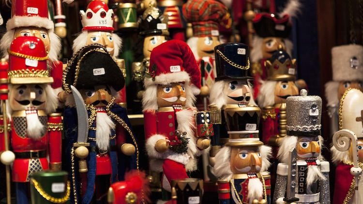 Nutcrackers Edinburgh Christmas Market