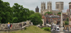 Things to do in York for free – Walking the York City Walls
