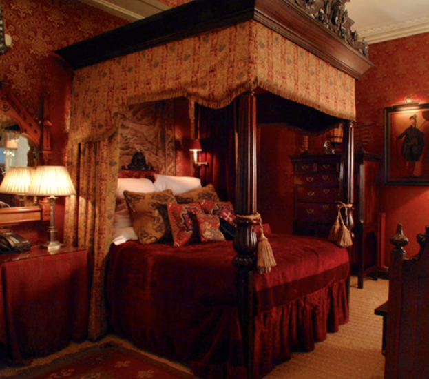 Where to Stay in Edinburgh The Witchery by the Castle