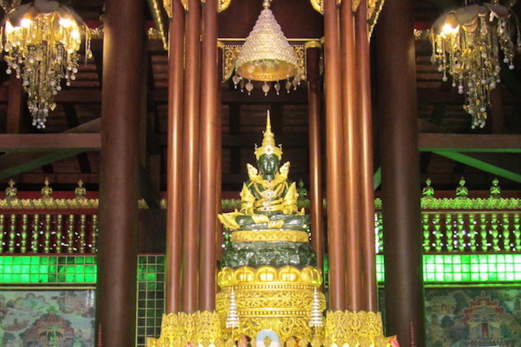 Wat Phra Kaew Emerald Buddha Chiang Rai