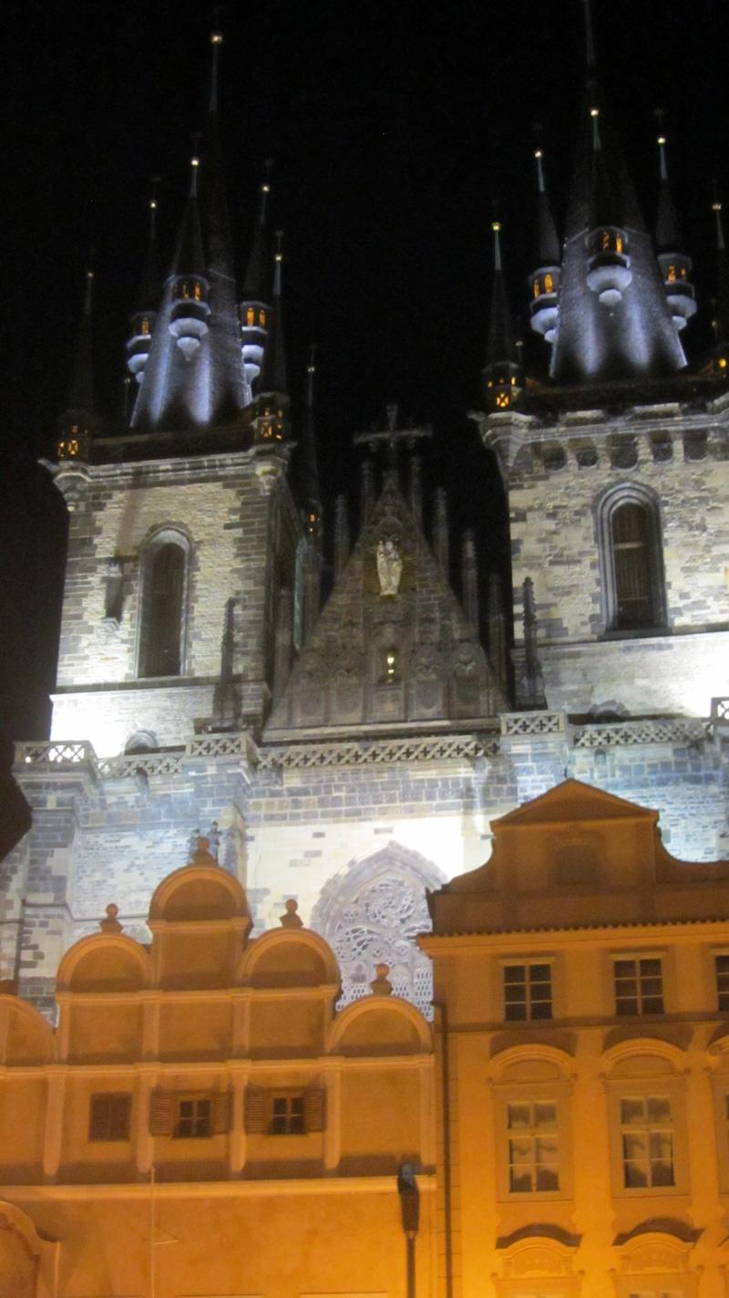 Prague Walking tour Tyn Church