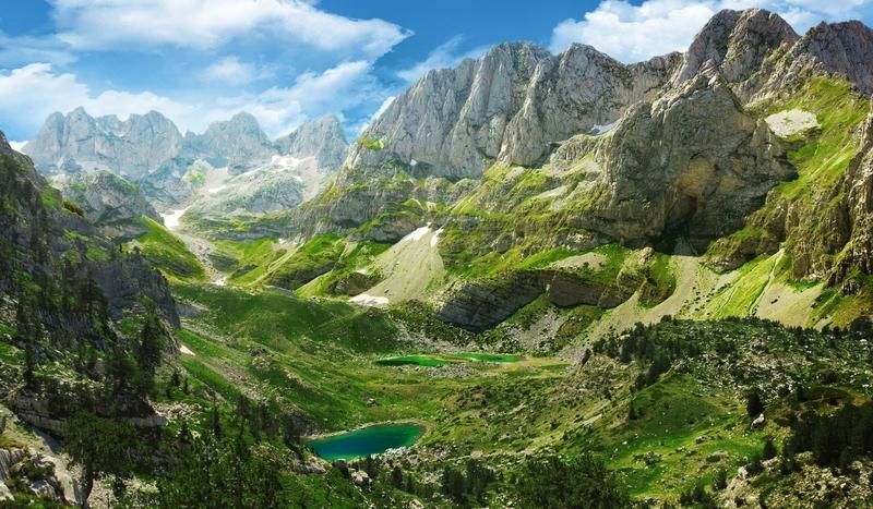 albania travel mountains alps