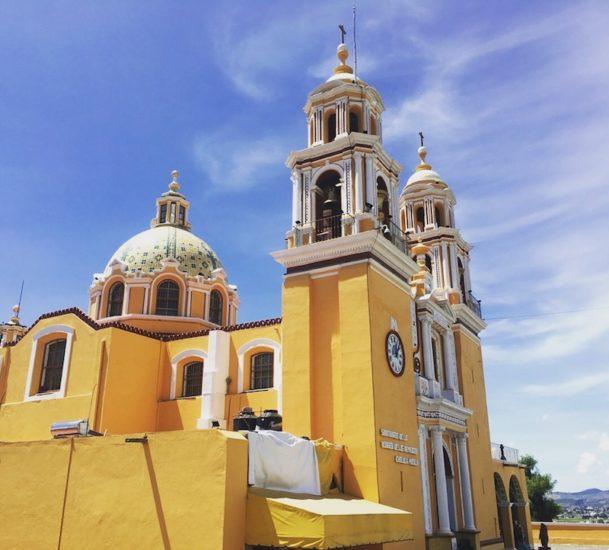 Travel Puebla - Cholula Cathedral