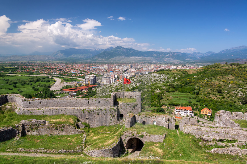 albania travel castle view history culture