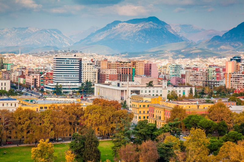albania travel capital tirana
