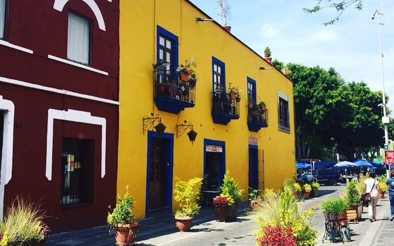 Puebla Travel – Colonial Buildings