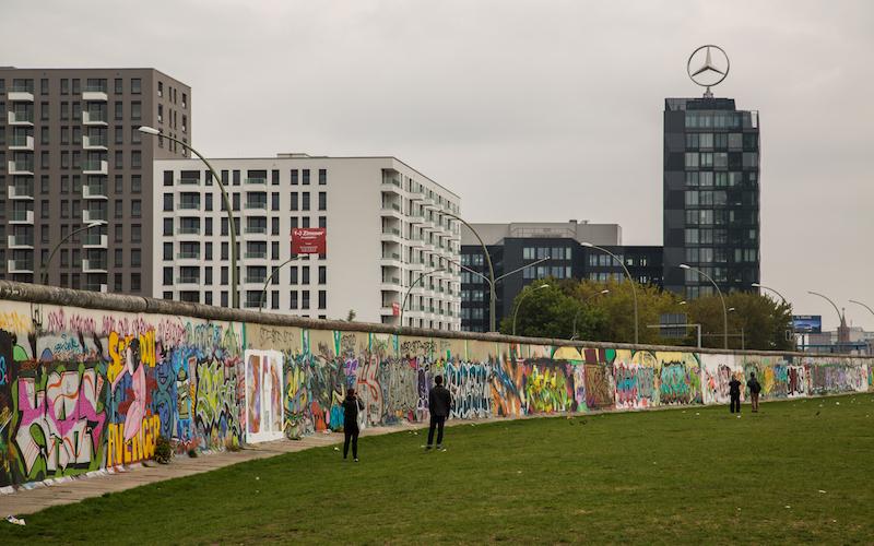 Berlin Wall in 2014