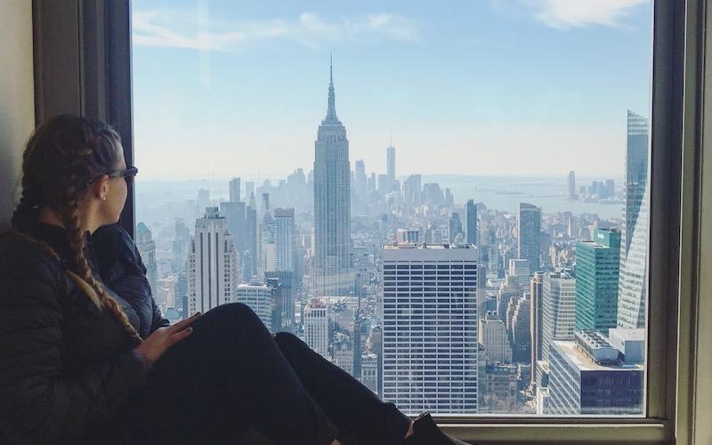New York City Window View